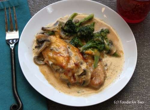 Chicken Mornay_Foodie for Two